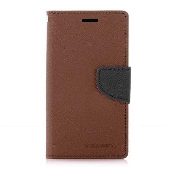 ... ACE ORIGINAL HITAM COKLAT. Goospery Mercury Wallet Flip Case Fancy Diary Samsung Galaxy A32016 A310 - Original - Coklat /
