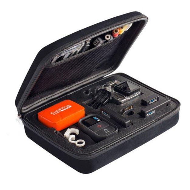 GoPro Action Cam Big Size Bag for SJCAM SJ4000, SJ5000 & GOPROHERO 3+/3/2/1 - Large