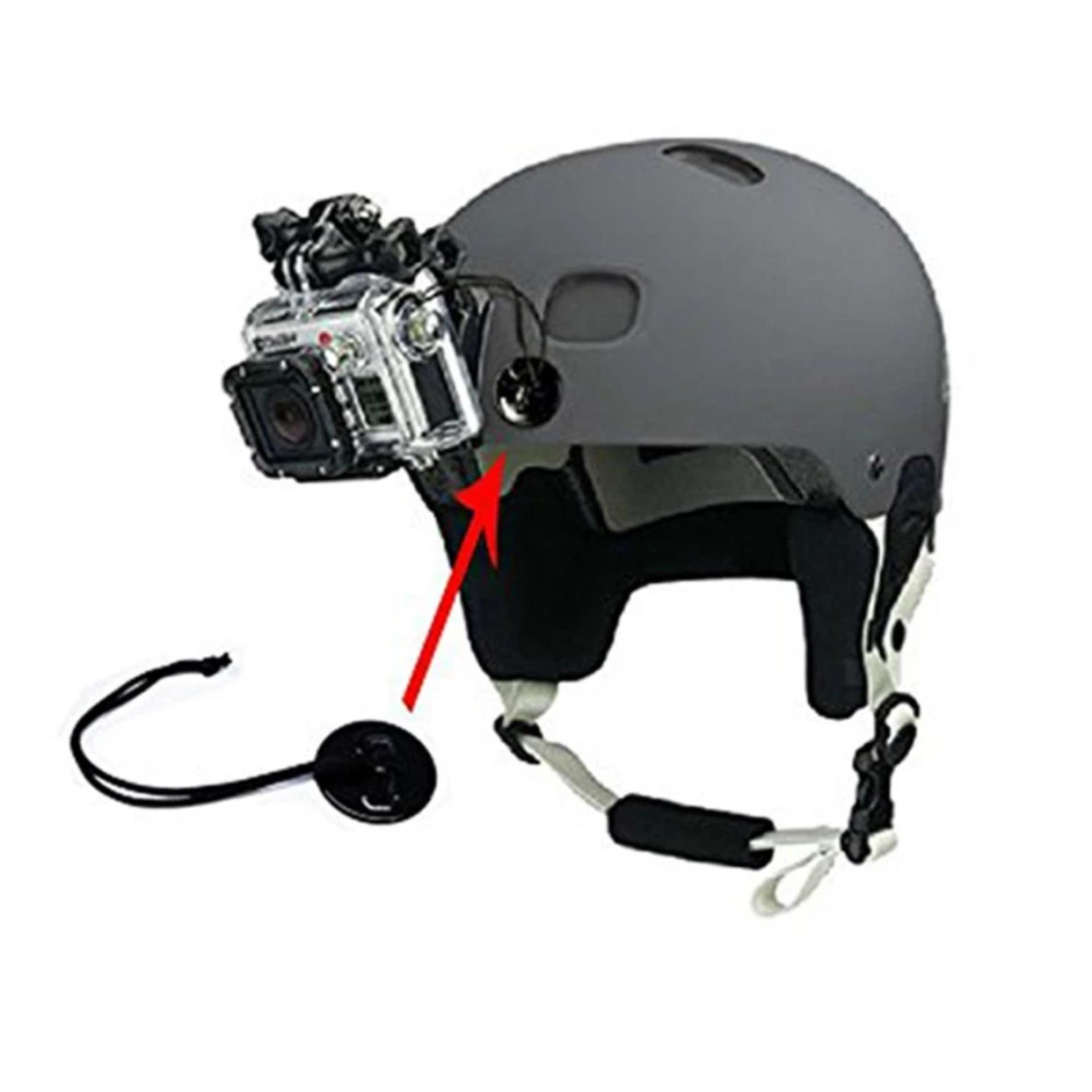 Gopro Tethers Helmet Anti Lost Cable Adapater W 3m Tape For Complete Set Bike Brica B Pro Ampamp Xiaomi Yi Camera Source