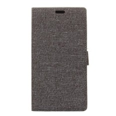 Grain PU Leather Case Flip Stand Cover for HTC U11 Life - intl
