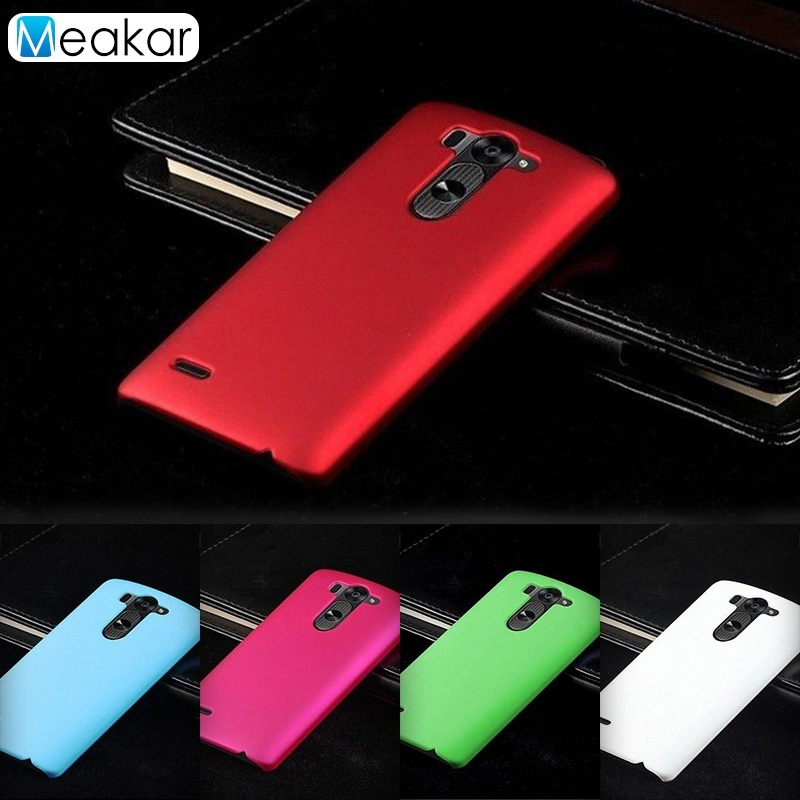 Grind arenaceous Hard Plastic 5.0 Cell Phone Back Cover Case For LGG3 Mini / G3 Beat