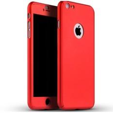 GROSIR CASE 360 HARDCASE FULL BODY PLUS TEMPERED GLASS IPHONE 7 PLUS