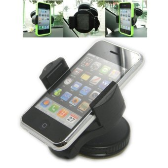 Gshop Universal Mobile Phone Windshield Car Holder 360 Degree Turn Around For All Mobile Phones