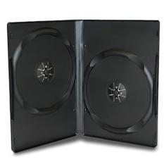 GT-PRO Casing atau Tempat DVD / 100 pcs - 9mm - Hitam