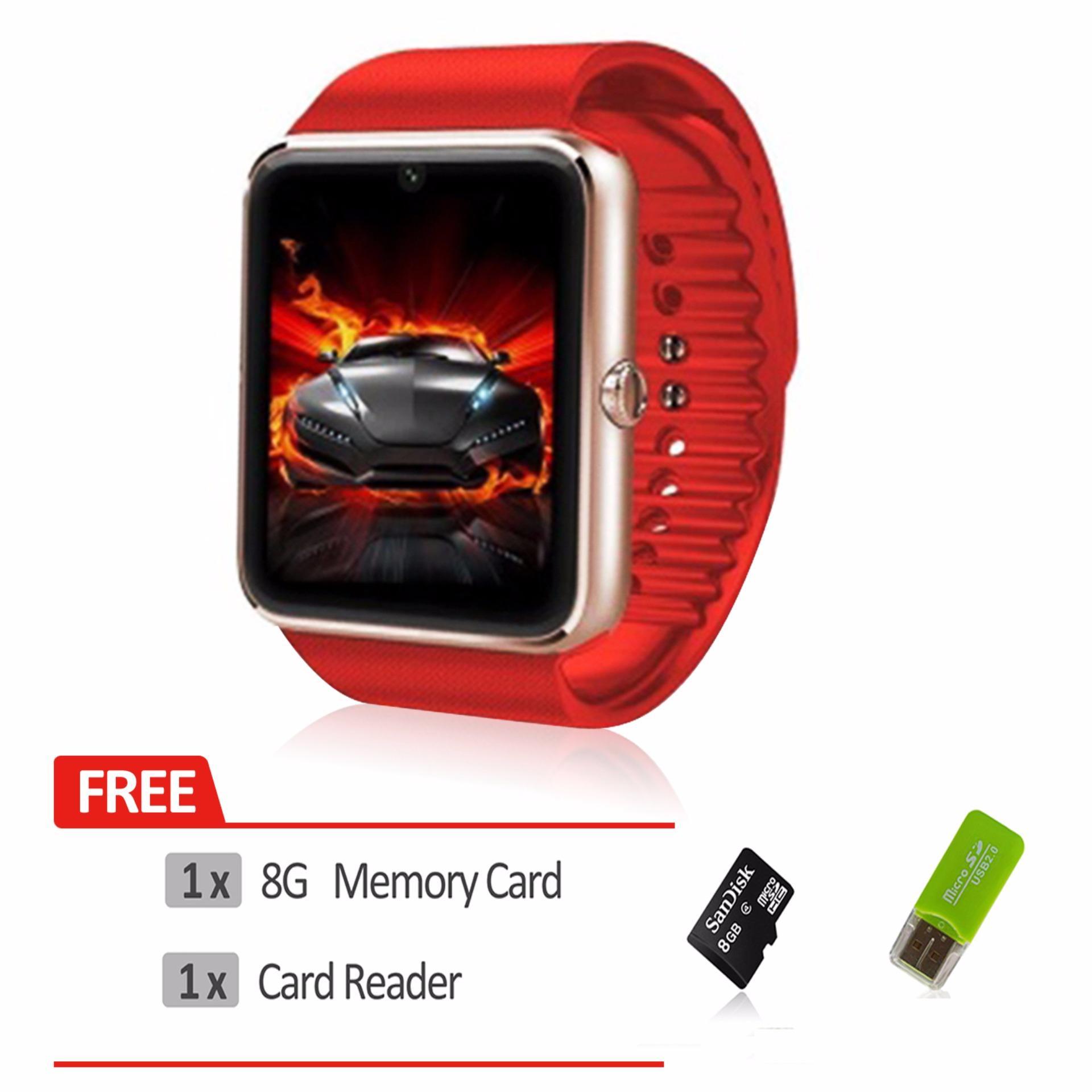 ... GT08 smart watch Clock Sync Notifier with Sim Bluetooth Smartwatch PK DZ09 - intl ...