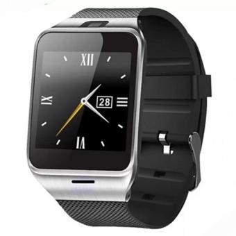 GV18 jam tangan ponsel pintar dengan 8 GB kartu memori dan Headset Bluetooth (hitam) - International - 2