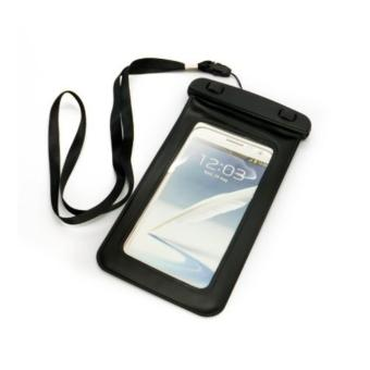 Handcell Waterproof Bag For Smartphone up to 5'5'' - Case Anti Air- Hitam