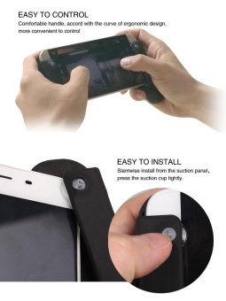 Handle Grip for DJI SPARK Drone Android System Smartphone Tablet Hand Shank - intl