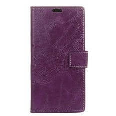 Happon Case for LG U Crazy Horse Pattern PU Leather Case with Magnetic Closure - intl