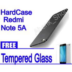 Hardcase case For xioami Redmi Note 5A BLACK/BLUE/RED/ROSSE GOLD || Free Tempered Glass