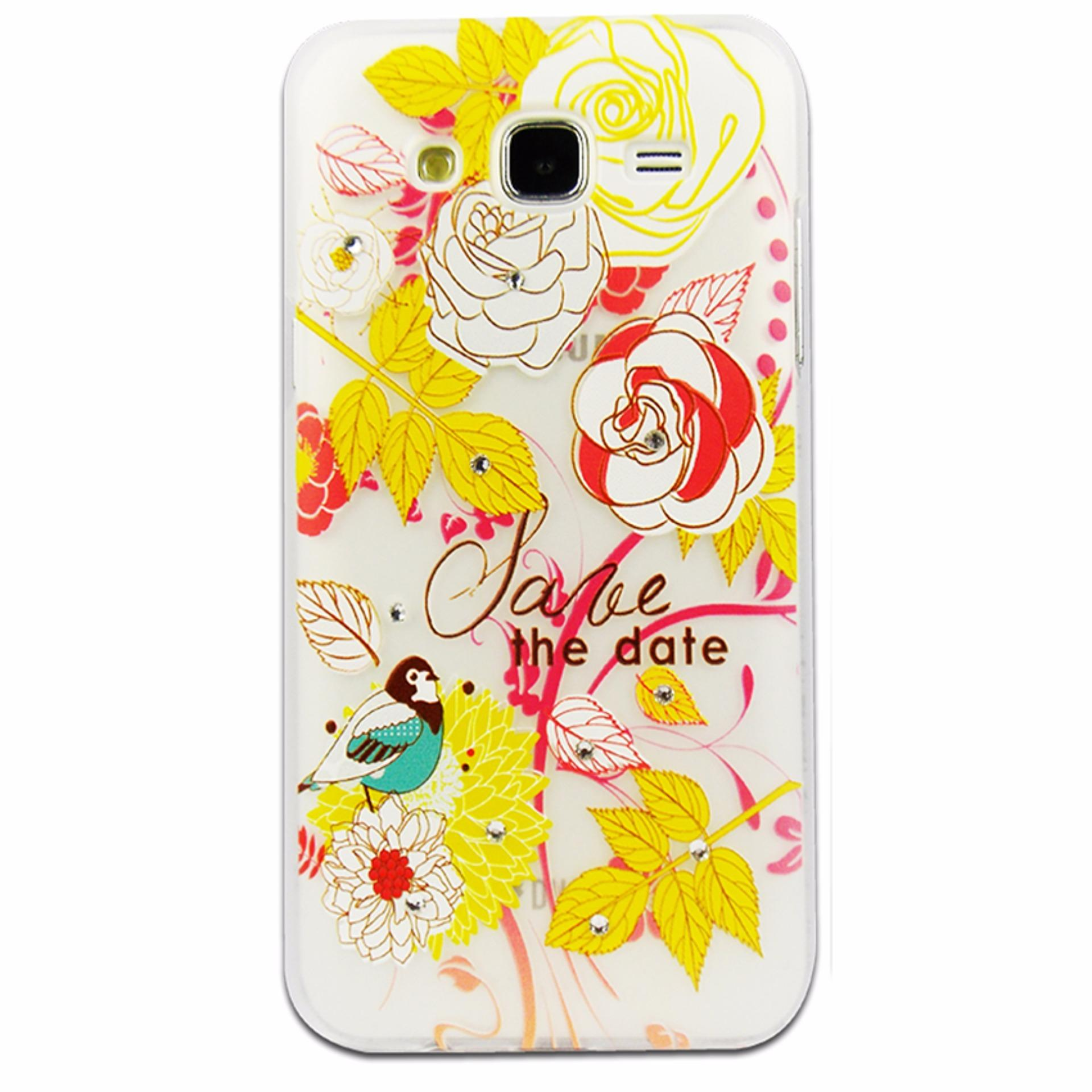 Hardcase Diamond Blink Gambar for Samsung Galaxy J5PRIME Motif4