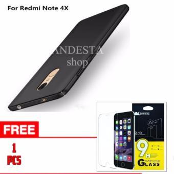 Gambar Hardcase Xiaomi Redmi Note 4x Free Tempered Glass