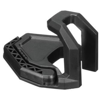 Headset Display Wall Hanger Game Headphone Stand Earphone HolderOrganizer Rack Black - intl .