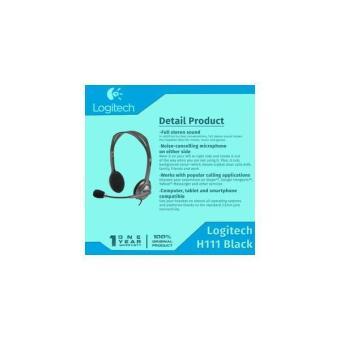 Gambar Headset Logitech H111 garansi 1 tahun