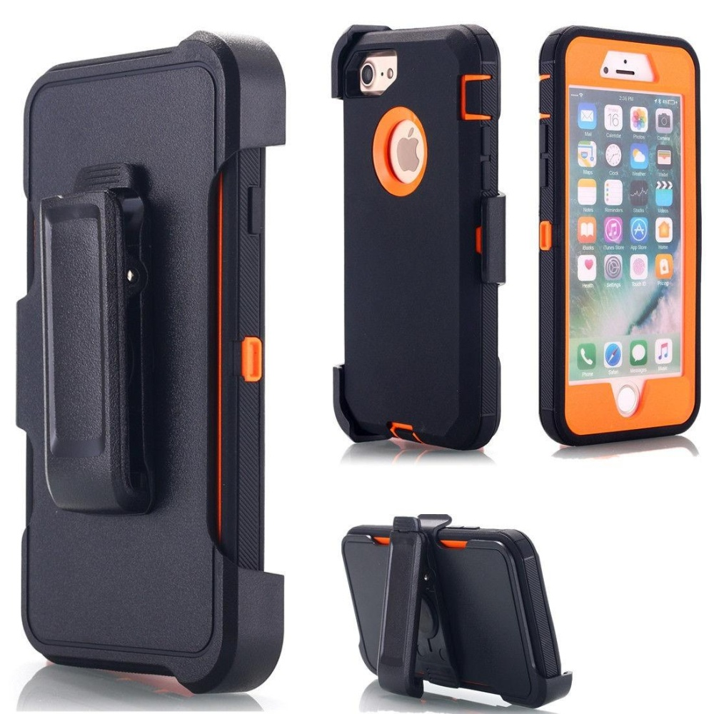 Heavy Duty Defender Shockproof Case Cover+Belt Clip Holster ForiPhone 5 5S . 04a7b0129d