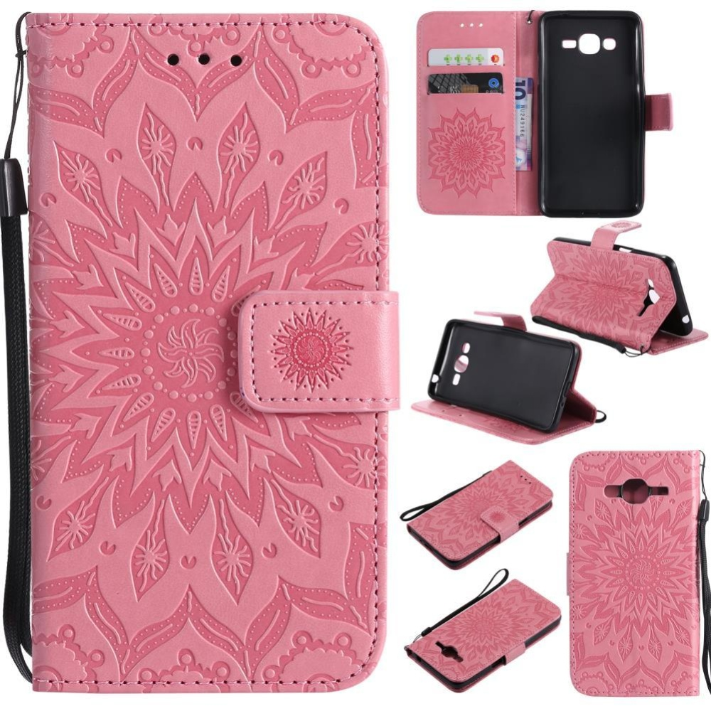 ... PU Leather Wallet Magnet Flip Case Cover with Credit. Source · Hicase Anti-Scratch Protective Cover For Samsung Galaxy J2 Prime Sunflower Style .
