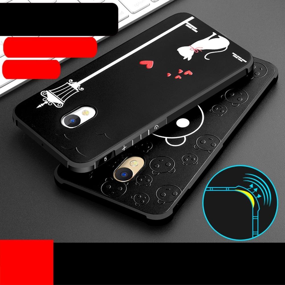 Hicase Cute Pattern Slim Fit Soft TPU Case Cover for Meizu Meilan M5 .