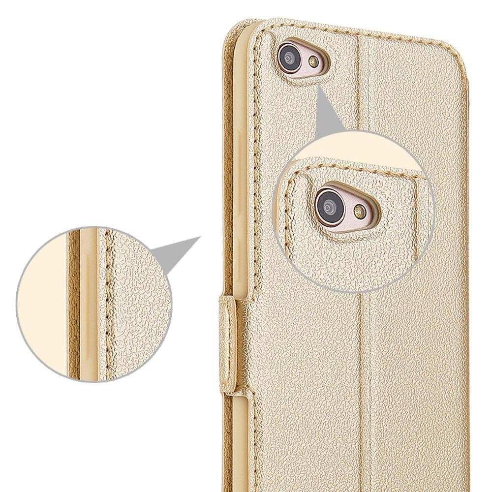 ... Hicase Ultra Thin Flip PU Leather Window View With Kickstand Feature Magnetic Closure Case Cover For ...