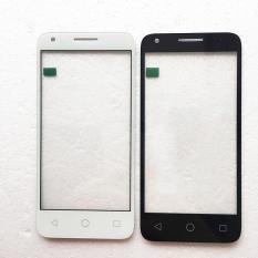 (Hitam) Baru untuk Alcatel One POP4 Pop 4 OT 5051 5051D 5051J 5051 M 5051X OT5051 Layar Sentuh Digitizer Aksesoris + 3 M Tape + Membuka Alat Perbaikan + Lem