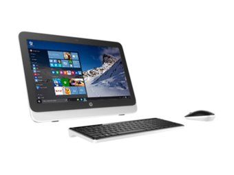 "HP 20-R121D AIO PC - 2GB - Intel Core i3 - 19.45"" - Hitam"