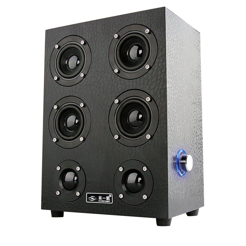 speakers with subwoofer. hp-x7 wooden speaker subwoofer usb audio speakers (black) | lazada indonesia with a