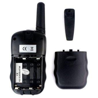 HT Radio Mini Pairs Handy Walkie Talkie with LED Light - T-388 -Hitam - 2