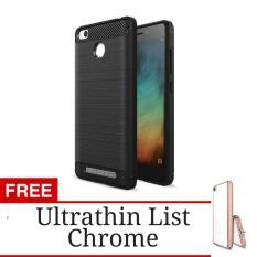 Black Source Case Ultrathin Shining List Chrome For Xiaomi Redmi 3 Pro 3s .