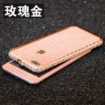 Daftar Harga I7/iphone7PLUS gemerlapnya bor bingkai sebelum dan sesudah pelindung layar berwarna pelindung layar