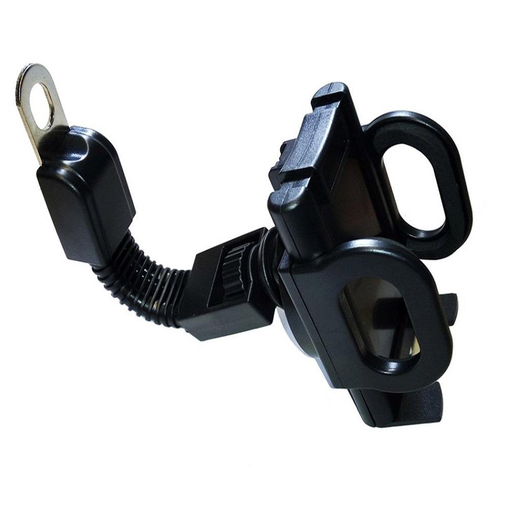 ... Icantiq Motor Phone Holder Motor Jepit untuk Spion motor / GPS Phone Holder for Motorcycles ...