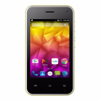 """iCherry C221 Rainbow 3.5"""" Android Kitkat – Yellow"""