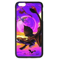 Ilove Fashion Protective Hard Rubber Coated Phone Case Cover For Iphone 6/Iphone 6S How To Train Your Dragon Toothless A732 New DIY - intl