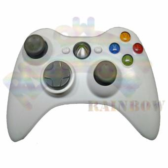 Harga Microsoft Xbox Stick 360 Wireless Controller Original / Stik Game - Putih
