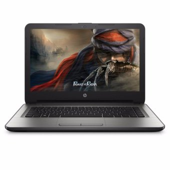 "Harga HP 14-AM514TU - Silver [N3060/4GB/500GB/Intel HD/14""/DOS]"