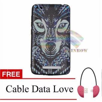 Harga Rainbow Soft Case Luxo Jungle Wild For Xiaomi Redmi 4A Softcase Macho Hewan Hutan / Case Luxo Rimba / TPU Case Silicone / Ultrathin / Softshell / Soft Case Lukisan / Case Unik / Casing Xiaomi - Wolf FREE Micro Cable Data Love