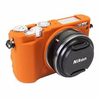 Soft Silicone Rubber Camera Case for Nikon J5(Brown) - intl ...