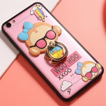 Harga OPPO A39/A57 Cute monkey TPU fashion phone case/fashionpack monkey - intl