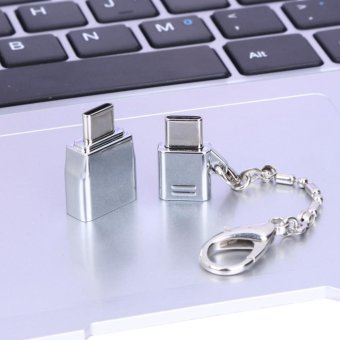 Alloy Type C Male TO Female Micro USB Adapter Converter Connector intl 4 .