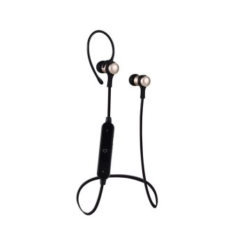 Harga Wireless Bluetooth Earphone S6-1 Metal bluetooth Headset dengan mic untuk iphone 7 untuk Samsung galaxy s7 s6 s5 xiaomi redmi 4 ponsel (hitam) - intl