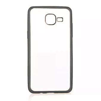 Case Ultrathin Shining List Chrome For Samsung Galaxy J1 Mini - Hitam