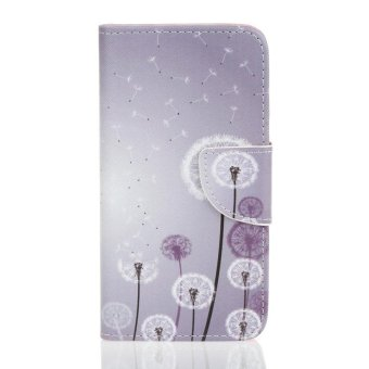 Dandelion Card Slot Wallet PU Leather Stand Flip Case Cover for Sony Xperia X Case- intl ...