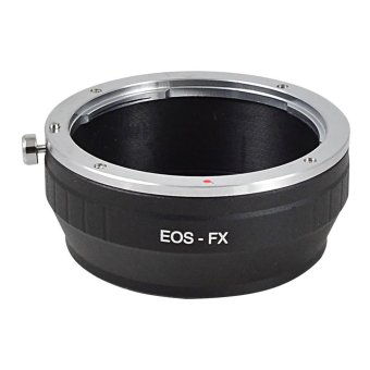 Harga MENGS FX Lens Mount Adapter Ring Aluminum And Copper Material For Canon EF EF-S Lens To Fuji XPro-1 X-E1 Camera Body