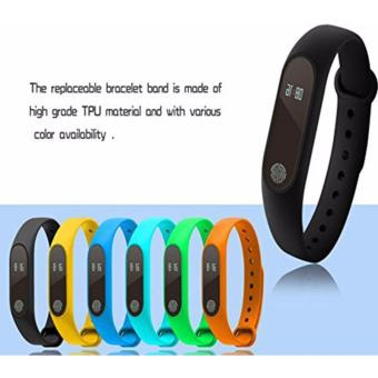 M2 Smart Bracelet Heart Rate Monitor Bluetooth Smartband Health Fitness Tracker Smart Band Wristband for Android iOS - intl - 5