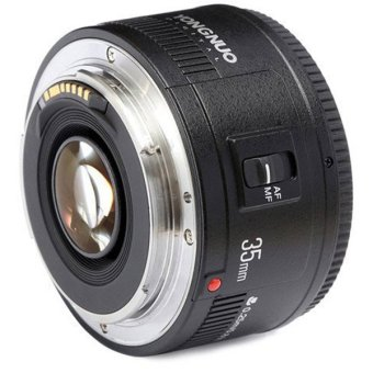 Harga YongNuo YN35mm F2 Lens 1:2 AF / MF Wide-Angle Fixed/Prime Auto Focus Lens For Canon EF Mount EOS Camera