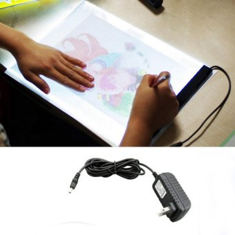 Galeri Gambar Hanyu Adjustable Brightness LED Tracing Light Board Bright Artist Tattoo Drawing Pad Table Stencil