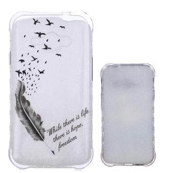 Slim Soft Flexible Style TPU Bumper Silicone Scratch-Proof Protective Skin Back Case for Samsung