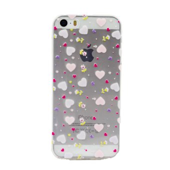 Harga Paroparoshop Flower Case For iPhone 4 or 4S - Heart