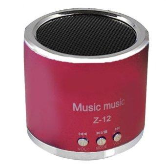 Bigskyie Wireless Portabel Speaker Mini USB Micro SD FM Radio Kartu TF MP3 Player Merah .