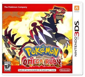 Harga Nintendo 3DS Pokemon Omega Ruby