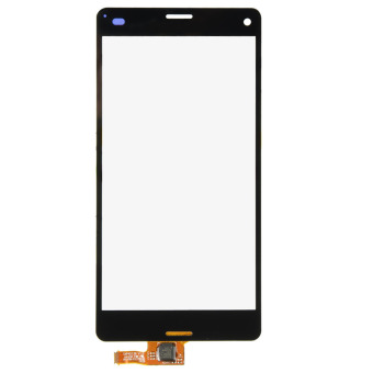 Layar sentuh Digitizer Glasas untuk Sony Xperia Z3 Mini padat D5803 D5833 (Hitam)