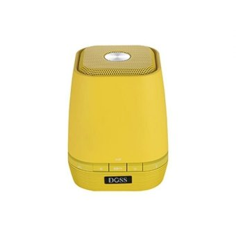 Harga Doss DS 1661 Bluetooth Speaker Support Micro Sd Card -Kuning